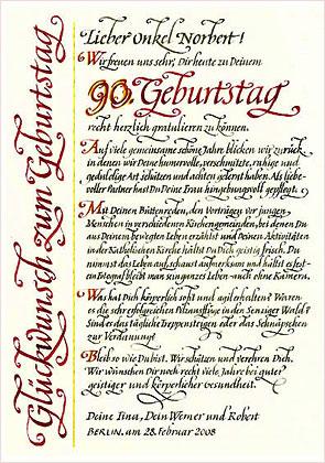 Reinhard Müller - Galerie: :::: Kalligraphie ...